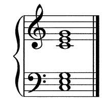 Keyboard Chords: Major & Minor Triads