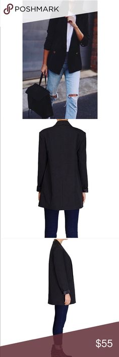 Black blazer New, bought it but doesn't fit (too small) :( Jackets & Coats Blazers