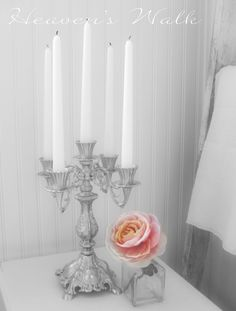 Heaven's Walk: Romantic French Candelabra