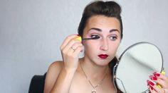 Мой осенний макияж в стиле глэм панк