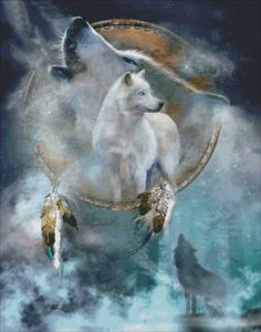 Spirit Wolf [CAVALARIS1690] - $14.25 : Heaven And Earth Designs, cross stitch, cross stitch patterns, counted cross stitch, christmas stockings, counted cross stitch chart, counted cross stitch designs, cross stitching, patterns, cross stitch art, cross stitch books, how to cross stitch, cross stitch needlework, cross stitch websites, cross stitch crafts