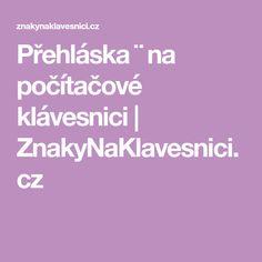Přehláska ¨ na počítačové klávesnici   ZnakyNaKlavesnici.cz