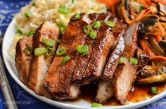 Slimming Eats Low Syn Chinese Pork - gluten free, dairy free, Slimming World and Weight Watchers friendly - great a delicious Chinese meal in your own home. Pork Recipes For Dinner, Meat Recipes, Healthy Recipes, Healthy Meals, Free Recipes, Healthy Food, Healthy Eating, Yummy Food, Slimming Eats