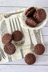 Tündérsüti: Csokis töltött keksz Pavlova, Biscuits, Muffin, Bourbon, Sweets, Cookies, Chocolate, Breakfast, Cake