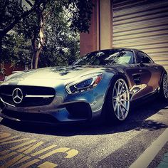 How gorgeous is this #Mercedes-Benz #AMG GTS? #SuperCars #Speed #Power #Style #Design #Luxury #Cars #CarShowSafari