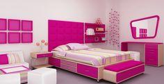 10 Minimalist Bedroom Design Pink Color in 2019