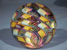 James Alloway Marble♡ Mosaic Glass, Stained Glass, Glass Art, Slumped Glass, Bubble Art, Venetian Glass, Glass Marbles, Glass Paperweights, Art For Art Sake