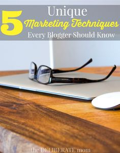 There are so many blogs on the internet. How do you get sizable page views and make brands want to work with you? Here are 5 unique, diy, promotion and marketing ideas that every blogger should know!