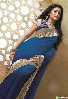 Shriya saran Fashion Saree Collection - shriya-saran-Saree-28 Shriya saran Fashion Saree Collection