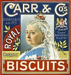 Stock Photo - Tin of Royal Biscuits, by Carr & Co. Vintage Pantry, Vintage Tins, Vintage Labels, Victorian Dollhouse, Diy Dollhouse, Victorian Era, Steampunk Coffee, Tea Labels, Vintage Packaging