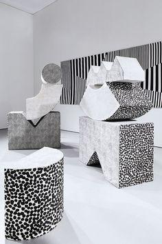 Soft Sculptures by Kristine Mandsberg