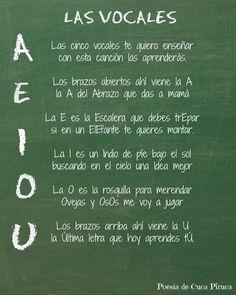 Cuca Piruca: Las cinco vocales