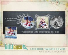 Facebook timeline cover photoshop template - Chalkboard Christmas style - E549. $8.00, via Etsy.