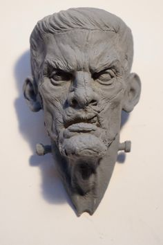 Frankenstein fridge magnet! Available too purchase here-  https://www.etsy.com/uk/shop/AlexSmithSculptures