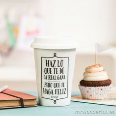 Taza de Cerámica Té Café aventura espera Diseño con paredes dobles presentes