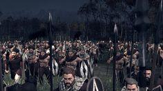Auch die Barbaren stehen auf der Seite Roms, nachdem wir sie unterworfen haben! Total War Rome 2 Emperor Edition, Radious Mod