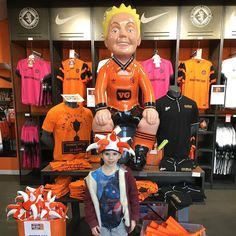 Buying some #dufc items for Alex - he loves the noisy