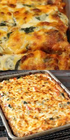 Low Carb Recipes, Diet Recipes, Cooking Recipes, Healthy Recipes, Pizza Recipes, Free Keto Recipes, Low Carb Desserts, Crockpot Recipes, Starbucks Recipes