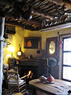 bellissima!  (my castle in spain: The cozy refuge of a painter in the Alpujarras mountains)