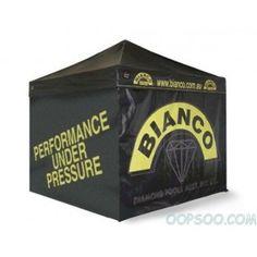 Custom Full Printing Advertising Black Oxford Tradeshow Tent - OT1409161000