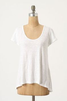 Love this simple tee in pale pink