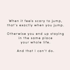 & that I can't do
