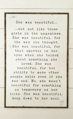 I want this in my little girls bedroom! LOVE!!!! She was beautiful sign | girls bedroom sign | modern farmhouse bedroom decor | distressed shabby chic plaque | wooden wall decor | farmhouse nursery decor | rustic decor | kids room art #ad #shabbychicbedroomsrustic