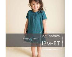 NEUE Cocoon-Kleid-PDF-Muster und Lernprogramm von heidiandfinn