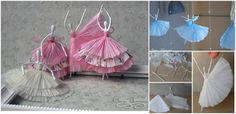 How to DIY Tissue Paper Ballerina