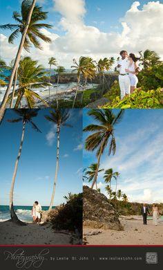 Best Beaches For Weddings In Barbados - Harrysmiths Beach    www.lesliestjohn.com