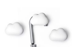 Don't worry this little cloud has no intention of floating away with your belongings but to function as a secure place to keep any item of your choosing. Cloud hook also functions as a fragrant holder to keep your room smelling nice each time you come to take your belongings.