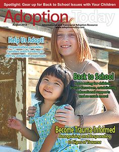 Another great August Back to School issue! www.adoptinfo.net