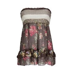 Daytrip Back To Nature Tube Top, $30.00 at Buckle...I love it!!~~JT~~