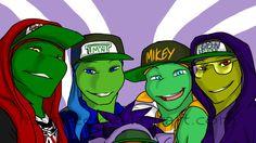 Me: *sees swag turtles* hello