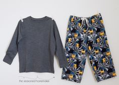 Learn How to Sew Pajama Pants Tutorial for Beginners. I've taken a Simplicity sewing pattern and better explained the steps, including photos.