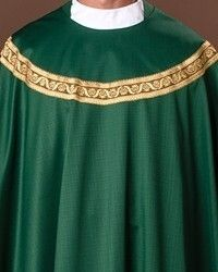The Holy Rood Guild > Chasubles & Copes > Spencer Chasuble: green liturgical vestment for priest or deacon Priest, Green, Black, Art, Fashion, Art Background, Moda, Black People, Fashion Styles