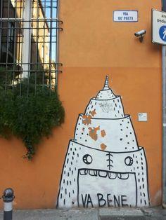 Bologna Street art - #findingbologna