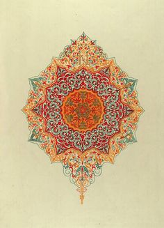 Jules Goury, Plans, elevations, sections, and details of the Alhambra, 1842-45. Smithsonian Library.