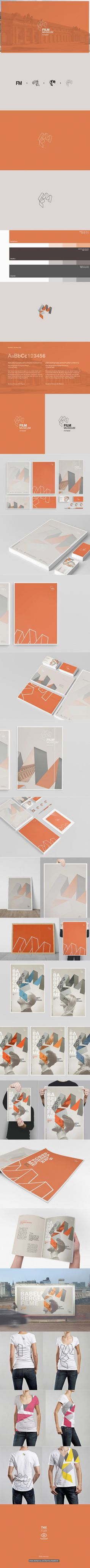 Design Conception of a Brand-Identity for the Film Museum in Potsdam. This work is part of a semester project.  More Projects on: http://www.behance.net/bartoschdebicki