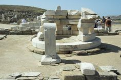File:Ancient Greek Altar Hermes Delos 102022.jpg