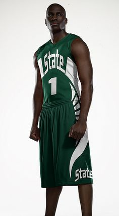 michigan state 5  spartans  marchmadness  michiganstate  nike Basketball  Uniforms 38c47ed11