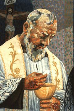 Prayer of St. Pio after Holy Communion.
