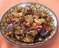 Eggplant and olive salad (Capunatina)