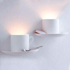 Lámparas como tazas de #cafe.  http://www.philipssenseo.com.ar https://www.facebook.com/PhilipsSenseoArgentina