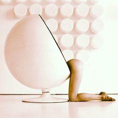 Eero Aarnio´s Ball Chair, originally designed in 1963 © N I K O L A Y • V O S K R E S E N S K I Y