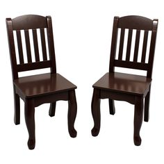 Teamson Kids Windsor Chairs - Set of 2 - Provide more room for friends by adding the Teamson Windsor Chairs - Set of 2 to your child's table and chair set. These hand-carved and hand-painted...