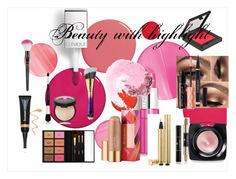 """""""Highlighting spring"""" by iindrani ❤ liked on Polyvore featuring beauty, Clinique, Elizabeth Arden, Laura Geller, Yves Saint Laurent, tarte, Lancôme, NARS Cosmetics, Bobbi Brown Cosmetics and Benefit"""