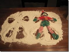 #elf on a shelf - making cookies #Christmas