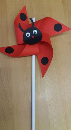 Preschool Crafts, Kids Crafts, Diy And Crafts, Arts And Crafts, Paper Crafts, Spring Crafts For Kids, Summer Crafts, Diy For Kids, Ladybug Crafts