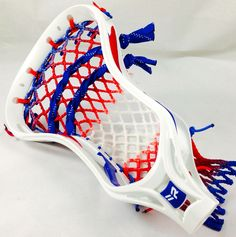 Rabil X with 7 diamond red, white and blue wax mesh.